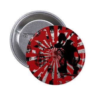 Skater 6 Cm Round Badge
