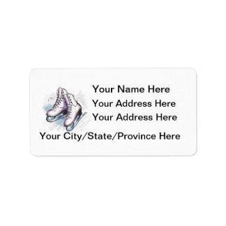Skater Address Label-Customize It! Label