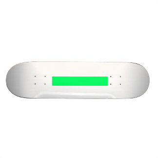Skater Board Create Your Own Custom Neon Green 21.6 Cm Skateboard Deck