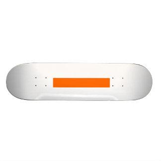 Skater Board Create Your Own Custom Orange Skate Board Deck