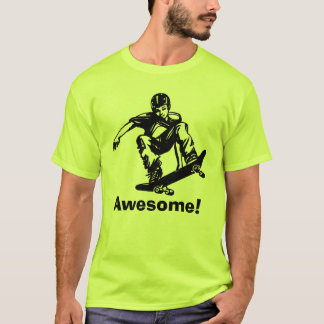 Skater Boy Awesome Skateboarder T-Shirt