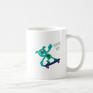 Skater Boy Basic White Mug