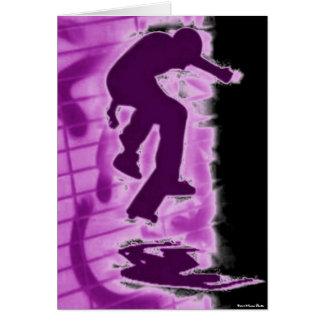 Skater Card