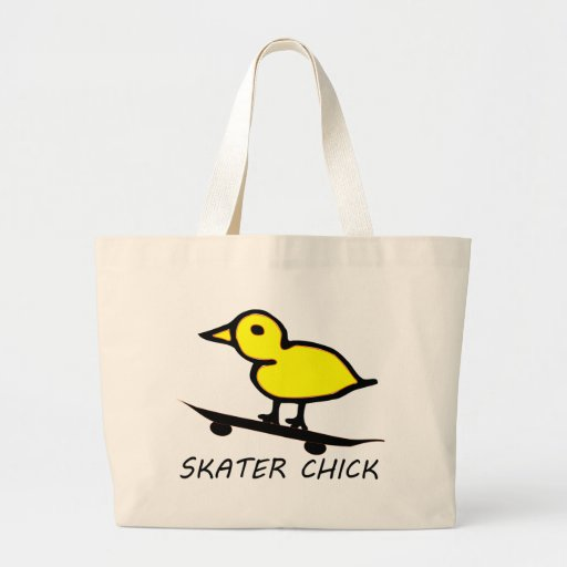 Skater Chick Canvas Bags