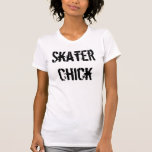 Skater Chick T-shirts