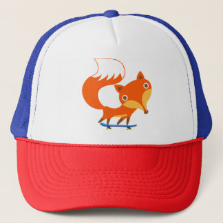 Skater Fox Trucker Hat