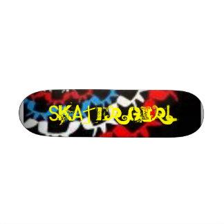 Skater Girl Custom Skateboard