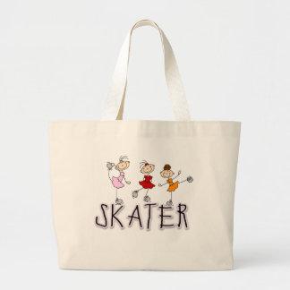 Skater Girl T-shirts and Gifts Jumbo Tote Bag