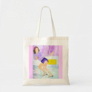 Skater Girl Tote Bag