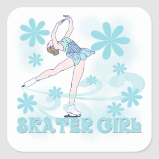 Skater Girl Tshirts and Gifts Stickers