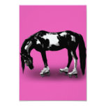 Skater Horse 9 Cm X 13 Cm Invitation Card