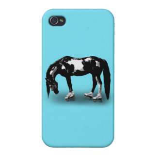 Skater Horse Cover For iPhone 4