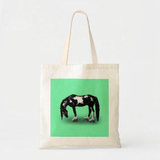 Skater Horse Tote Bag