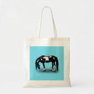 Skater Horse Budget Tote Bag
