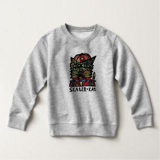 Skater Kat BuddaKats Sweatshirt