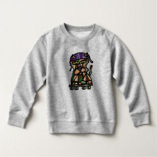 """""""Skater Kat"""" Toddler Sweatshirt"""