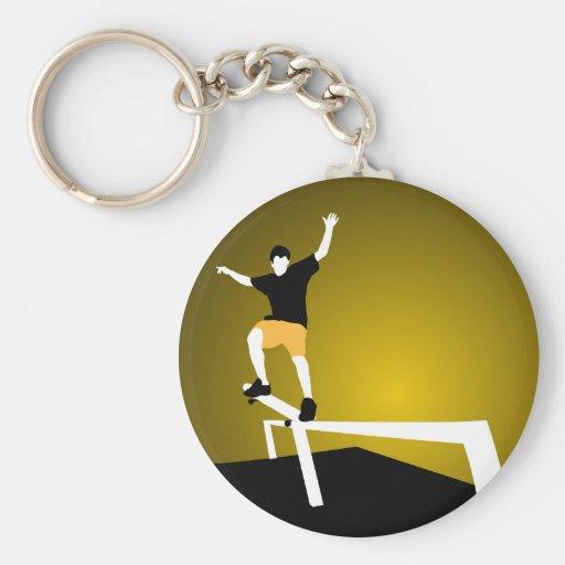 Skater Keychains