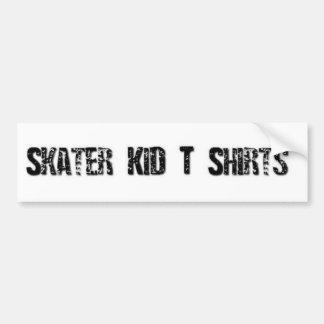 Skater Kid Bumper Stickers