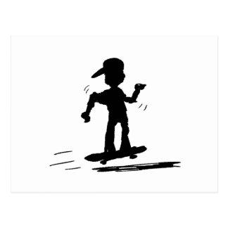 Skater Kid - nd Postcard