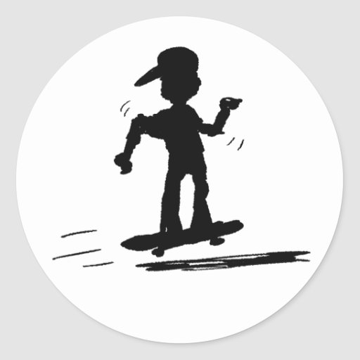 Skater Kid - nd Stickers