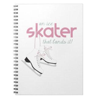 Skater Lands It Notebooks