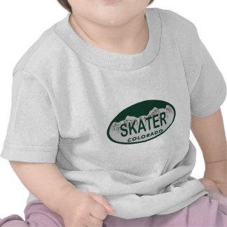 Skater license oval tee shirt