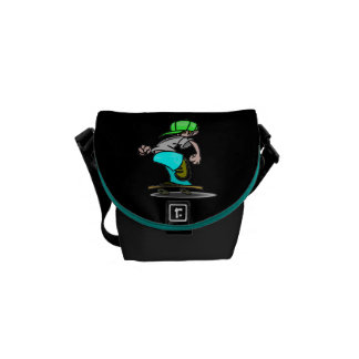 Skater On the Go Mini Messenger Bag