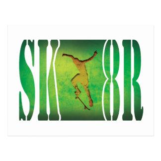 Skater Post Card