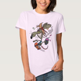 Skater Rodent T-Shirt - Pale Pink