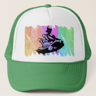 Skater Skateboard Scribble Hat