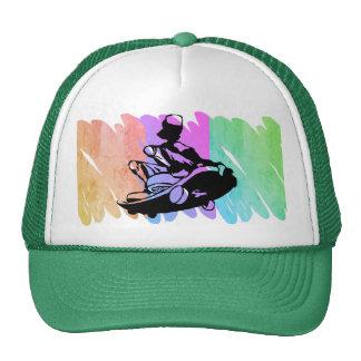 Skater Skateboard Scribble Hat