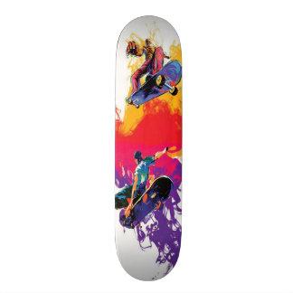Skater Sketch Skateboard