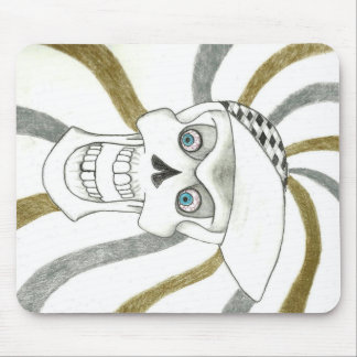 SKATER SKULL PRODUCTS MOUSE PAD