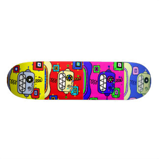Skater Spacemen 21.6 Cm Old School Skateboard Deck