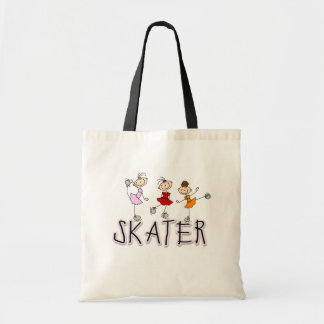 Skater Stick Figures Bag