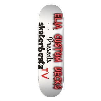 skaterbeatz tv logo deck skate boards