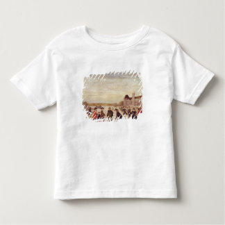 Skaters on the Seine in 1608 Toddler T-Shirt
