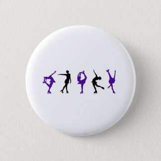 skaters only 6 cm round badge