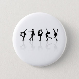 Skaters & Reflections 6 Cm Round Badge