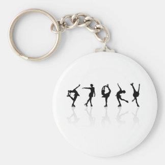 Skaters & Reflections Key Ring