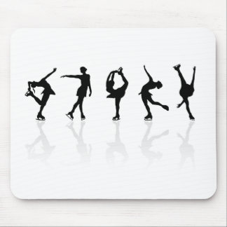Skaters & Reflections Mouse Mat