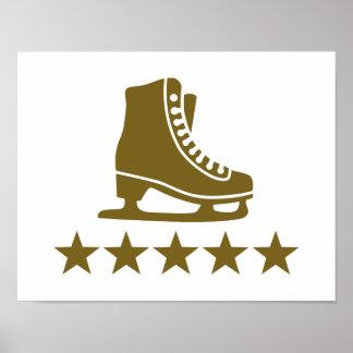 Skates stars poster