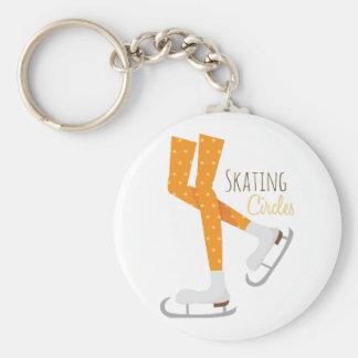 Skating Circles Key Chains