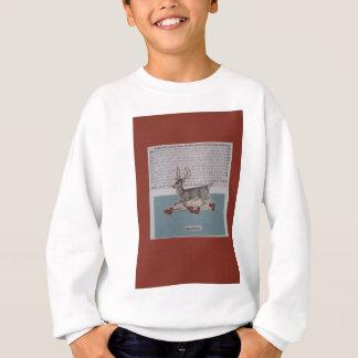 skating deer sweatshirt