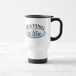Skating is Life 15 Oz Stainless Steel Travel Mug