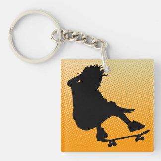 skating man Key Chain