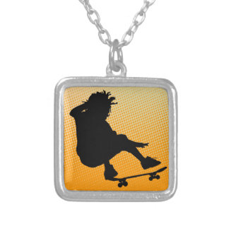 skating man Necklace