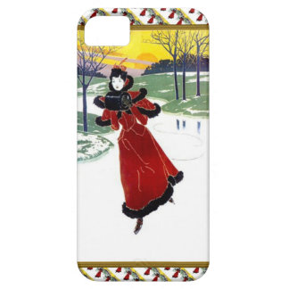 Skating on the river iPhone 5 case