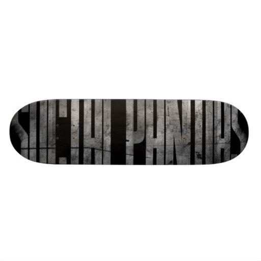 Skating Panda Skateboard