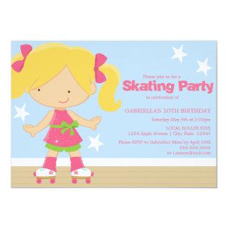 Skating Party | Birthday Party Invite